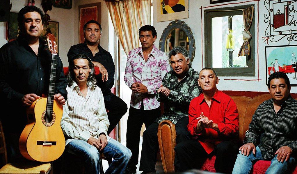 Gipsy Kings desembarcam no Brasil