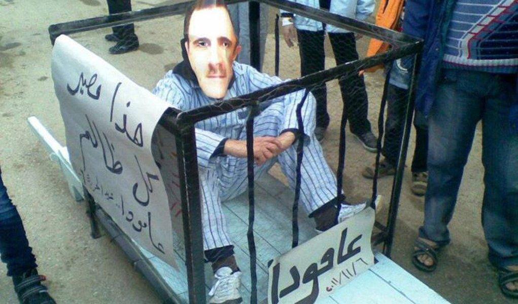 ONG acusa regime da Síria de crimes contra humanidade