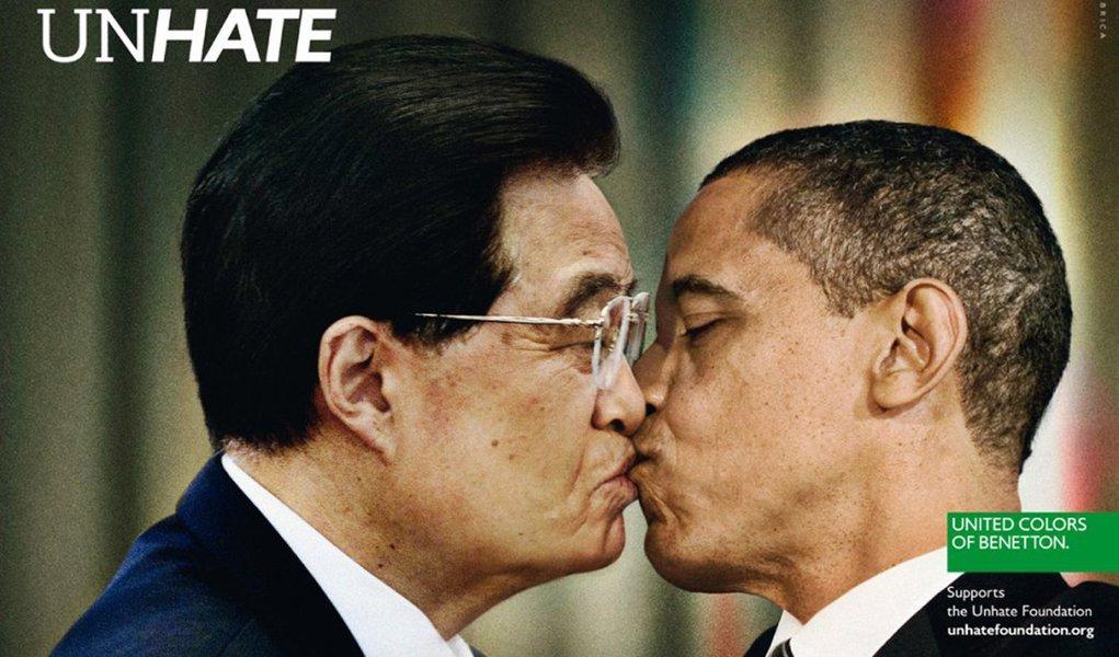 Faça amor, não faça guerra, diz Benetton