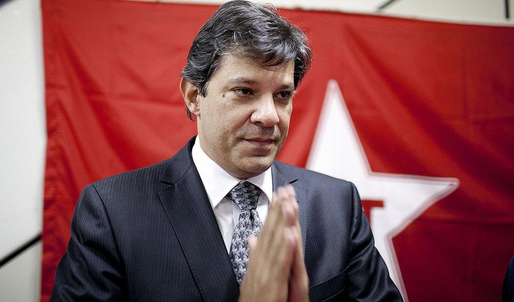 Pré-candidatos do PT desistem por Haddad