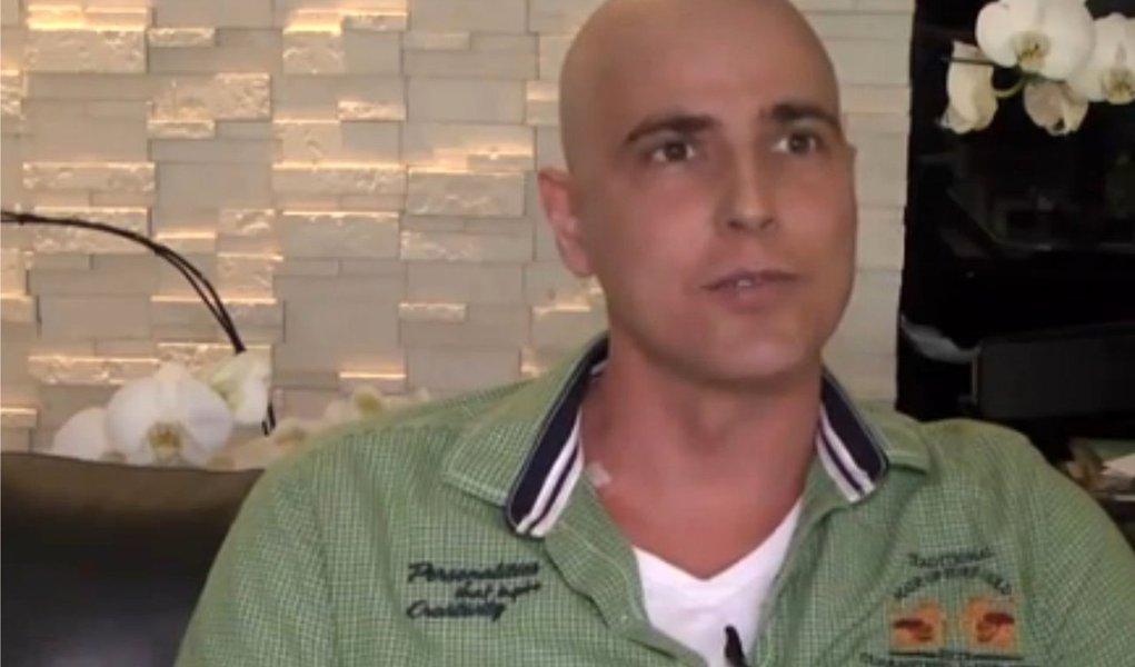 Reynaldo Gianecchini volta a ser internado