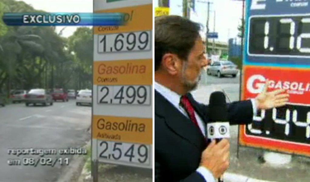 Globo dá como exclusiva matéria premiada da Band