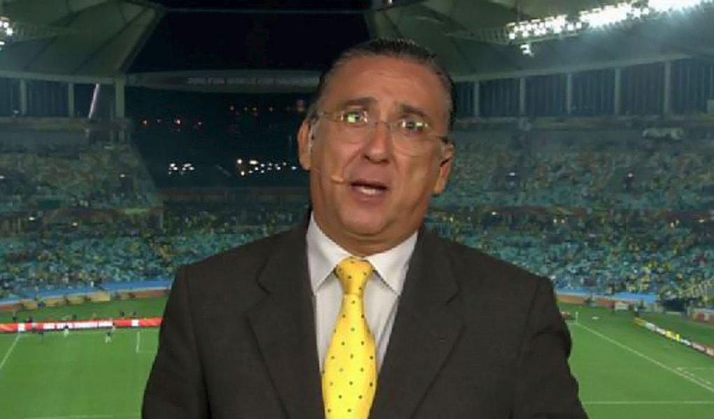 Galvão Bueno está fora da Olimpíada