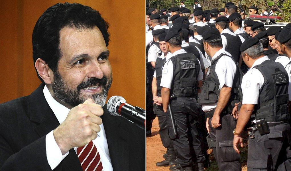 PMs do DF decretam estado de greve e iniciam operação-padrão