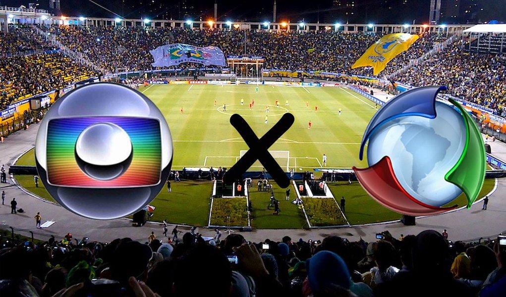 Globo e Record em guerra por Copas de 2018 e 2022