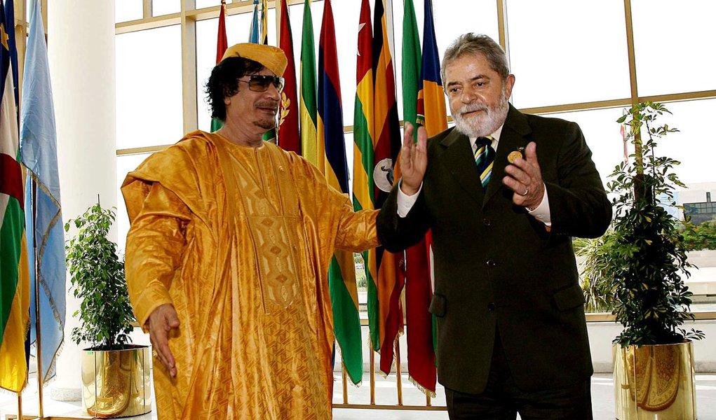 Contratos da era Lula-Kadafi podem não valer mais