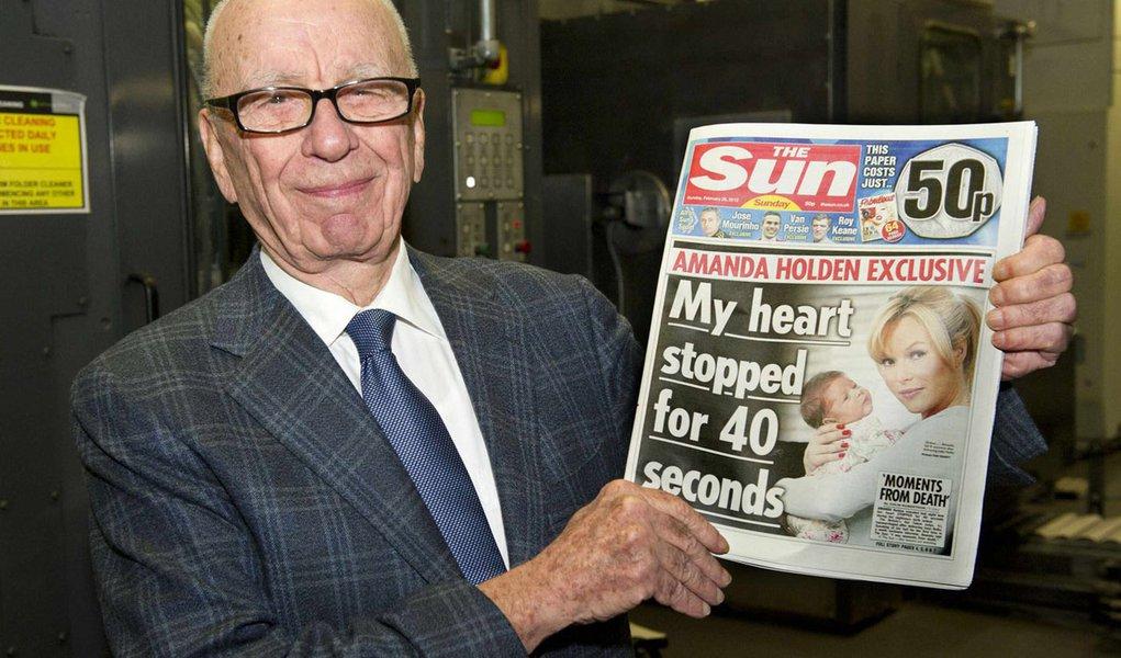 Chega às bancas o novo jornal de Rupert Murdoch
