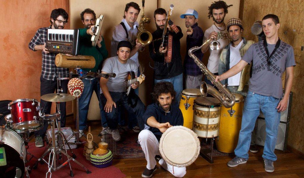 Bixiga 70 faz show no Sesc Santana