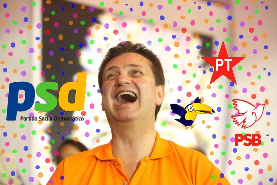 Kassab quer ser pegador do carnaval e mira PSB