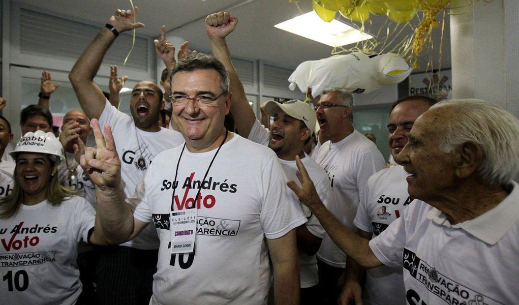 Candidato de Andres Sanches é o novo presidente do Corinthians