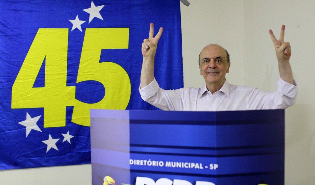 Serra diz que Dilma o copia no que faz de bom