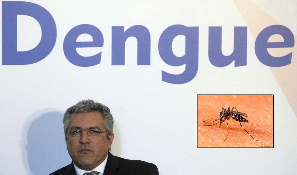 Ministro teme epidemia de dengue histórica no Rio