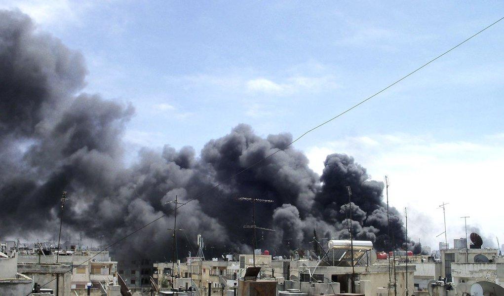 Pelo menos 70 pessoas foram assassinadas hoje na Síria