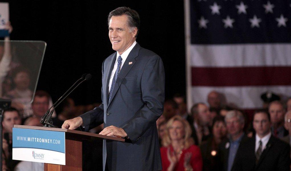 Mitt Romney vence prévia republicana de Wyoming