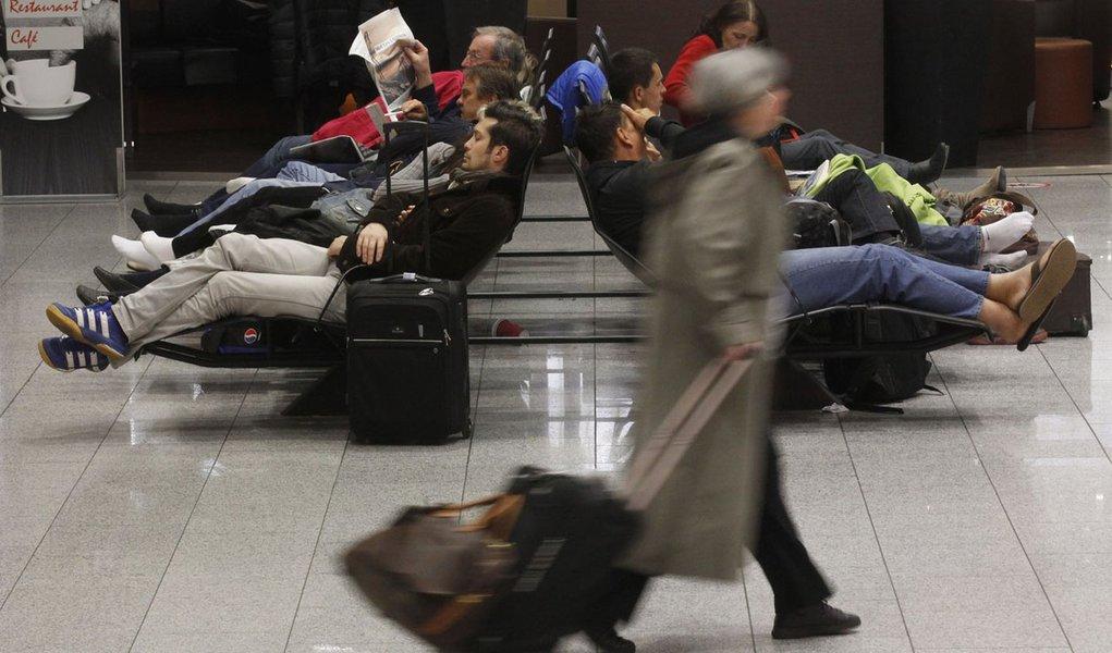 Greve no Aeroporto de Frankfurt vai até sexta
