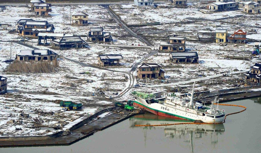 Recuperação é lenta no Japão um ano após tsunami