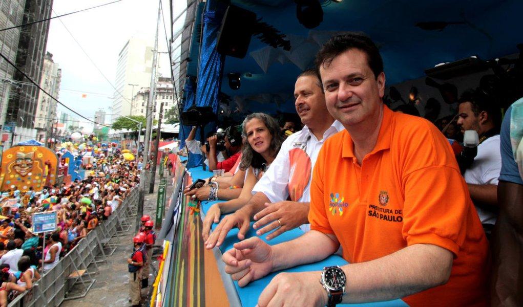 """""""Eduardo Campos é meu líder"""", diz Kassab"""