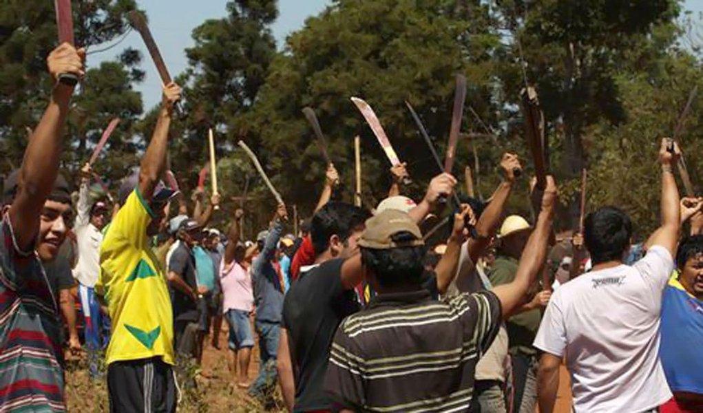 Paraguai: cresce tensão entre sem-terra e produtores do Brasil