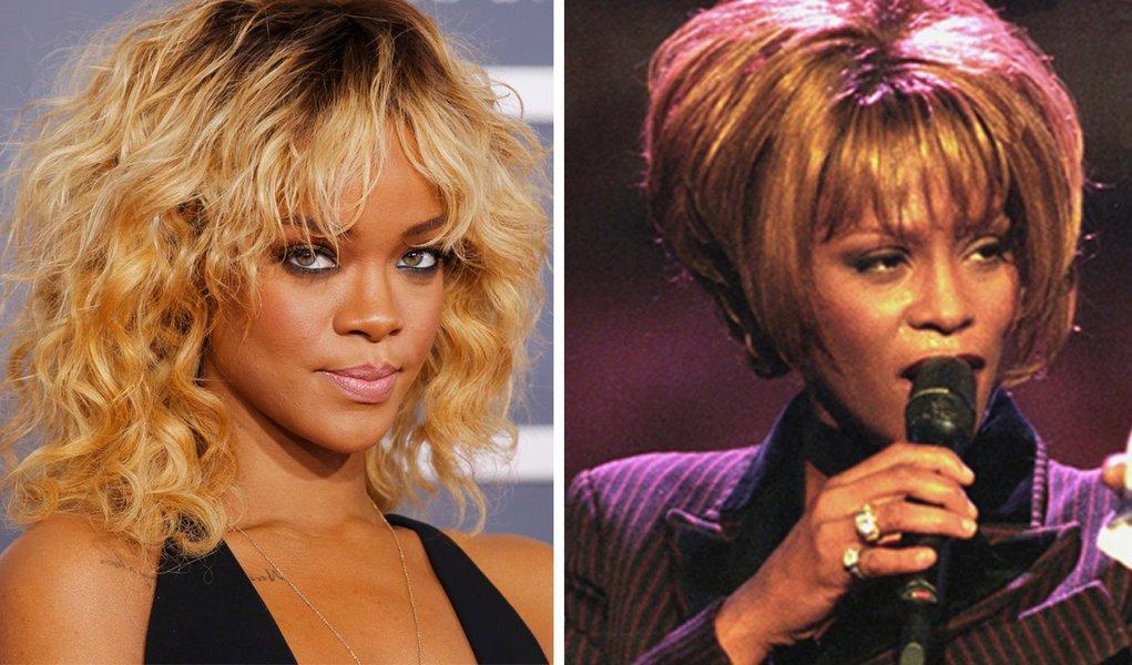 Rihanna é favorita para viver Whitney Houston no cinema