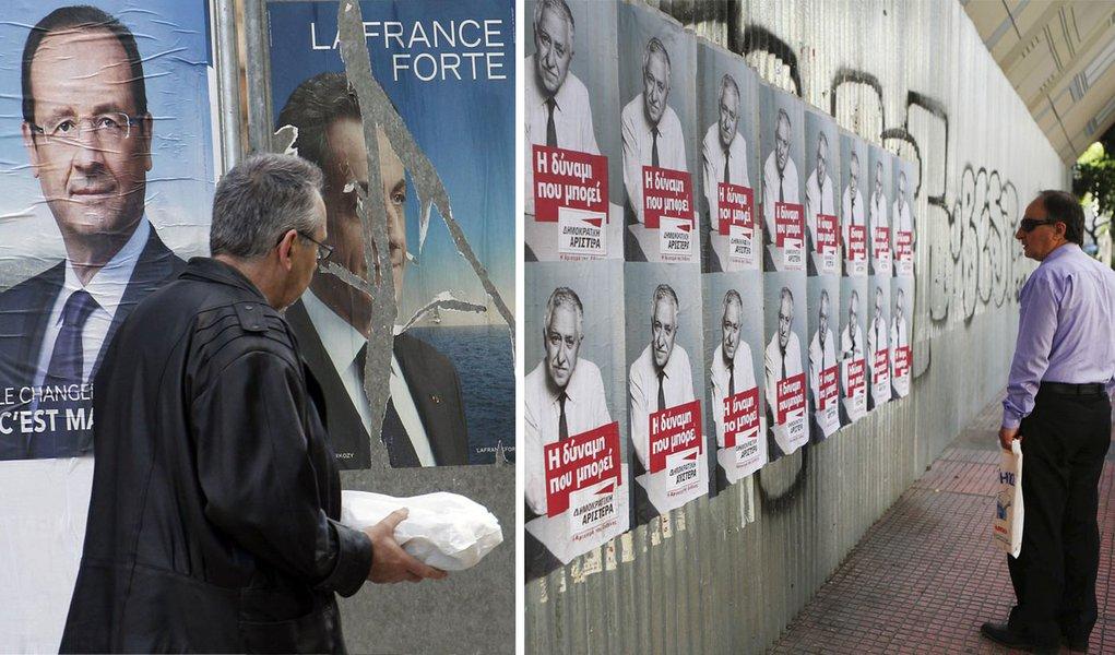 Urnas na França e Grécia definem destino da Europa
