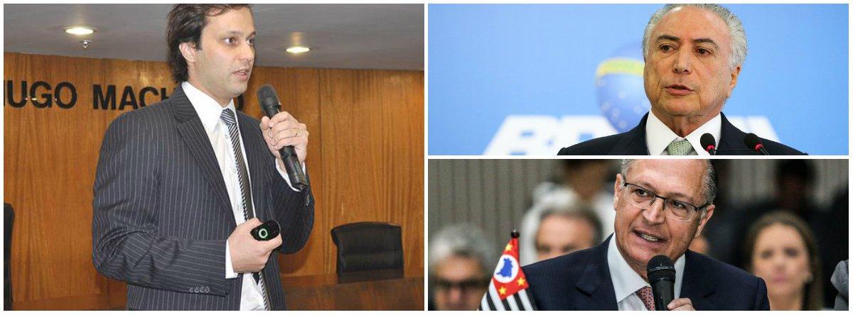 Milton Fornazari, o principal delegado que investigava inquéritos da Operação Lava-Jato na cidade de São Paulo, perdeu o cargo após uma publicação no Facebook pedindo a prisão de Michel Temer, do senador Aécio Neves (PSDB-MG) e do ex-governador de São Paulo Geraldo Alckmin (PSDB)