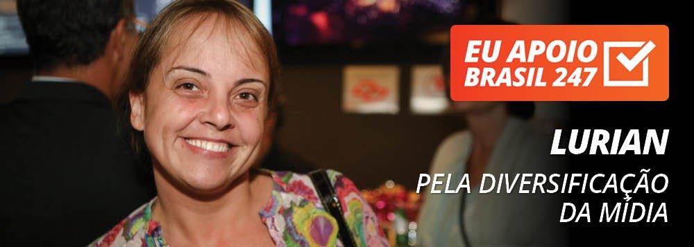 """Lurian Lula da Silva, filha do ex-presidente Lula, apoia a campanha de assinaturas solidárias do Brasil 247. """"Eu apoio a diversificação da mídia, eu apoio a TV 247"""", diz ela em seu vídeo de apoio; assista"""