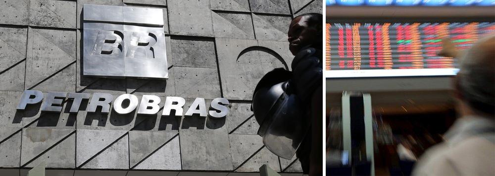 """Os papéis da Petrobras começaram esta quinta despencando na Bolsa de Valores de Paulo, com queda de 14%; Ibovespa abriu caindo 1%; o """"mercado"""", composto pelos grandes bancos, grandes empresas e especuladores, reage muito mal à crise da Petrobras; na noite de ontem, os ADRs da empresa chegaram a cair mais de 10% em Nova York"""