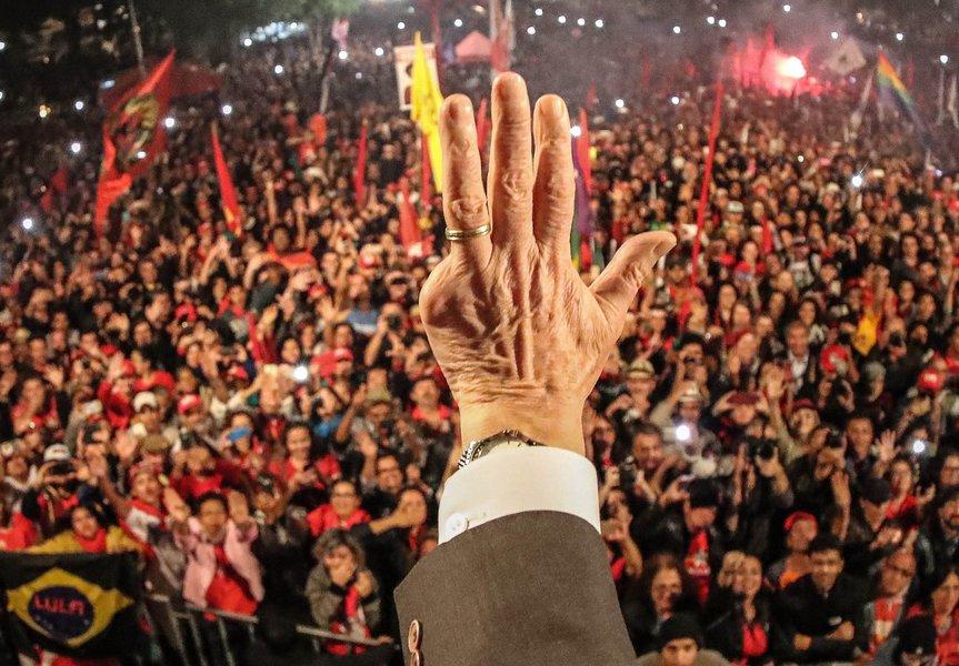 Lula quatro dedos imagem grande