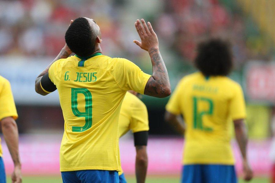 Brasil x Áustria em Viena. Lucas Figueiredo/CBF