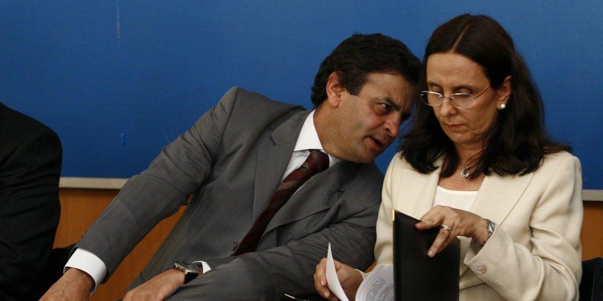 Aécio e Andrea Neves