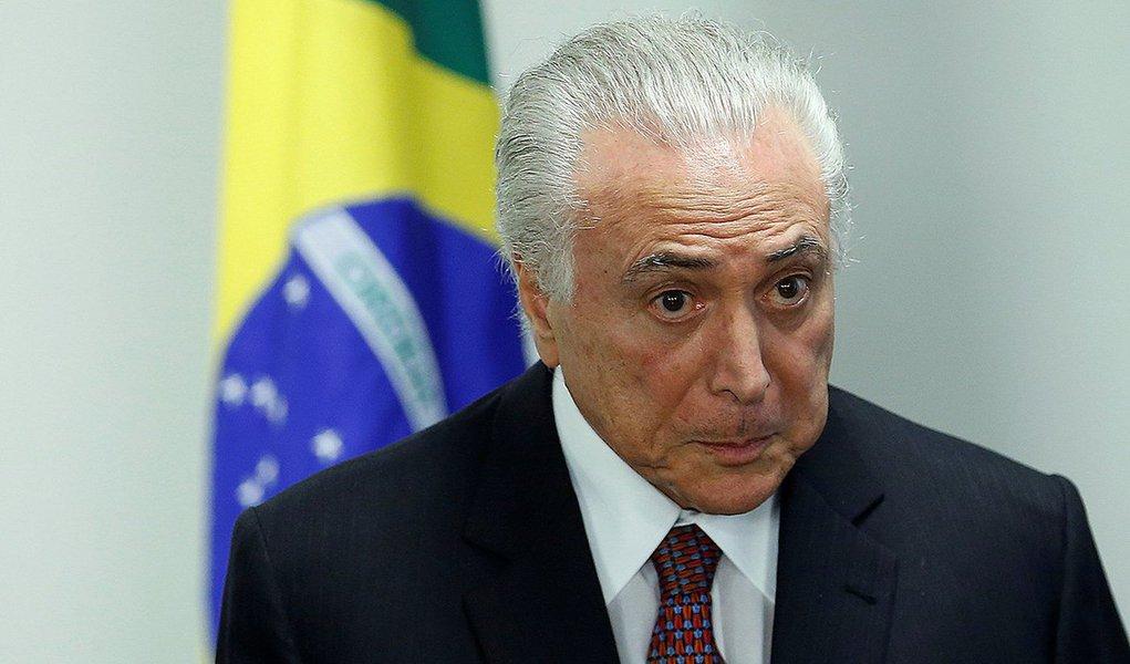 Presidente Michel Temer 05/06/2018 REUTERS/Adriano Machado
