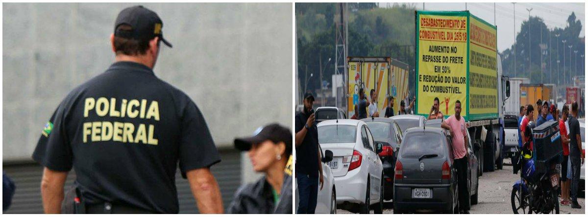 A Polícia Federal deve começar a prender líderes da greve que resistem ao fim da greve dos caminhoneiros; o acordo com o governo não foi o suficiente para que a categoria retomasse suas atividades; caos pode aumentar