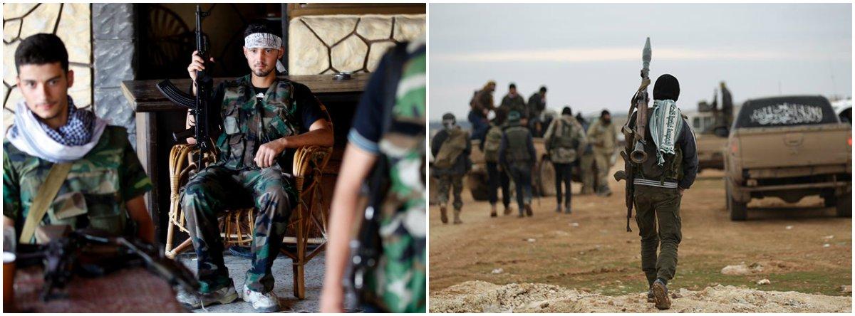 rebeldes síria