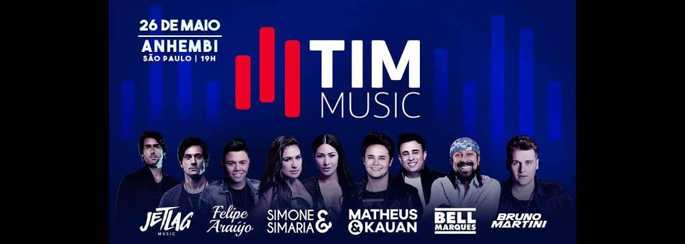 O festival TIM Music, que aconteceria na Arena Anhembi, neste sábado (26), em São Paulo, teve de ser cancelado por causa da paralisação dos caminhoneiros; é que ônibus e caminhões de artistas ficaram parados nas estradas; os ingressos serão reembolsados integralmente; a edição do TIM Musicno Rio de Janeiro, marcada para o dia 1º de junho, segue confirmada, por enquanto