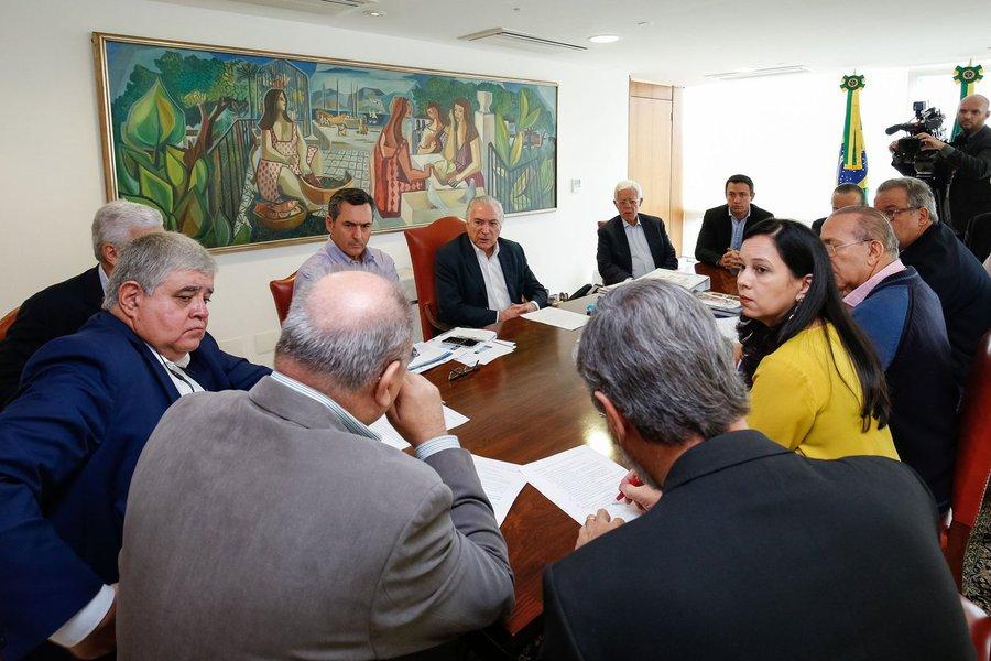 Brasilia 27 05 2018 Presidente Michel Temer, durante reunião de Monitoramento de Prioridades Estratégicas de Abastecimento Alan Santos/PR