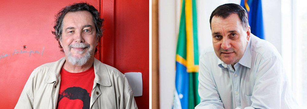 """Acioli Cancelier de Olivo, irmão do ex-reitor da Universidade Federal de Santa Catarina (UFSC) Luiz Carlos Cancellier, relata os últimos momentos que passou ao lado de 'Cao' e todo o achincalhamento público que o levou ao suicídio; """"A Polícia Federal é responsável pela morte do meu irmão"""", condena; assista à íntegra"""