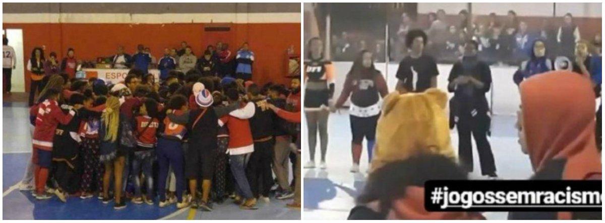 """Estudantes negros da UERJ, da UFF e da UCP foram chamados de """"macacos"""" e tiveram bananas arremessadas contra si.São os traços de um processo histórico e político de subalternização do povo negro, baseado na certeza da impunidade e na manutenção de privilégios das classes dominantes"""