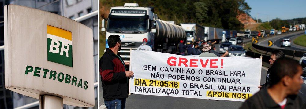A Petrobras reduzirá os preços de diesel e gasolina nas refinarias a partir de quarta-feira (23) em meio a discussões dentro do governo sobre a alta dos preços dos combustíveis e protestos de caminhoneiros; anúncio ocorre após caminhoneiros realizarem na segunda-feira protestos em 19 Estados contra a alta dos combustíveis; nesta terça-feira, caminhoneiros voltar a bloquear rodovias e o porto de Santos em manifestação contra a política de aumentos quase diários no preço dos combustíveis