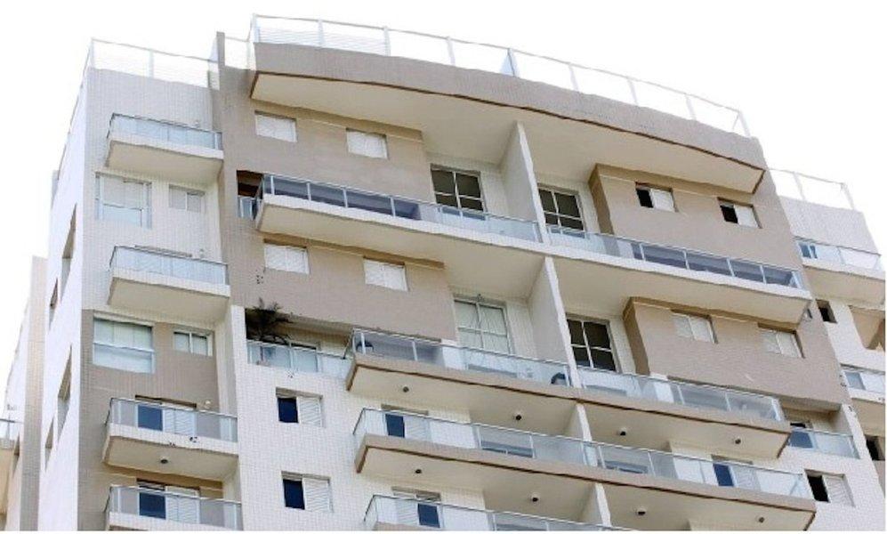 Apartamento triplex no Guarujá atribuído ao ex-presidente Lula