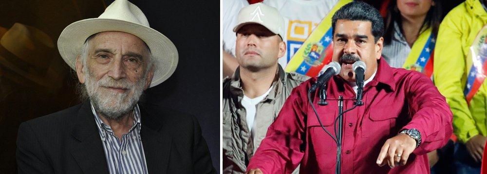 """O jornalista Alex Solnik condena o não reconhecimento brasileiro nas eleições venezuelanas; """"Nenhum governo tem o direito de interferir em outro país, principalmente quando se trata de um vizinho, a questão é, a Venezuela reconhece governo Temer?"""", questiona; Inscreva-se na TV 247 e confira o programa Boa Noite 247"""