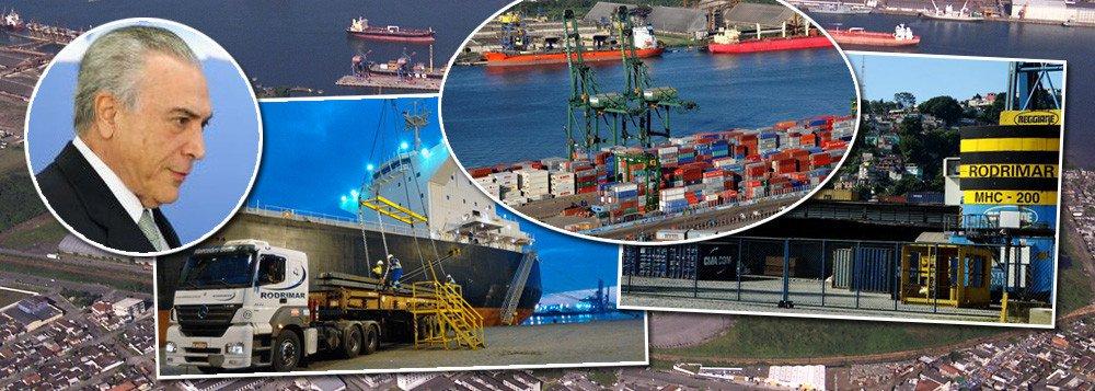 temer portos
