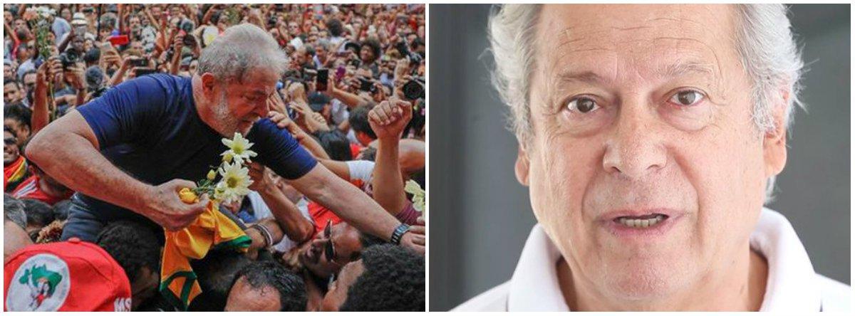 Serão aproximadamente 40 dias na estrada, com 500 militantes e um só objetivo, um só sonho, o de ver os companheiros Lula e Zé Dirceu livres bem como todos os companheiros que se encontram presos por determinação do Juiz fascista de Curitiba Sergio Moro a mando do Imperialismo Americano