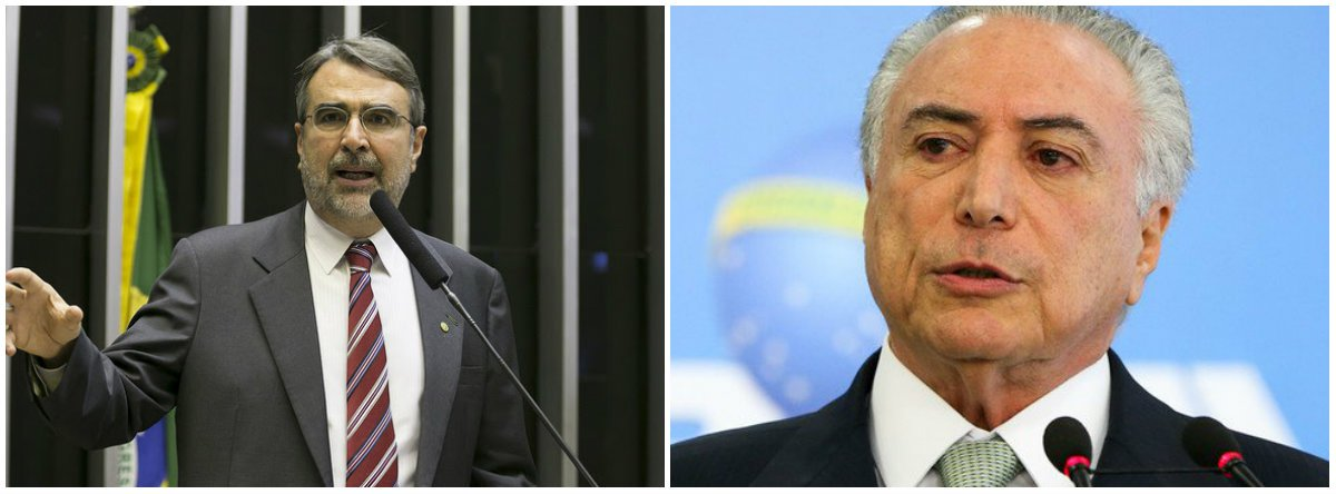 """O deputado federal Henrique Lula Fontana (PT-RS) criticou a MP MP 830 assinada por Michel Temer; a medida acaba com o Fundo Soberano do Brasil (FSB), uma espécie de poupança criada em 2008, no governo Luiz Inácio Lula da Silva, tem em caixa cerca de R$ 27 bilhões; """"É uma medida provisória escandalosa, absurda, antinacional. Um crime de lesa-pátria para torrar esses R$ 27 bilhões no pagamento da dívida pública, que é perto de R$ 1 trilhão"""", denunciou"""