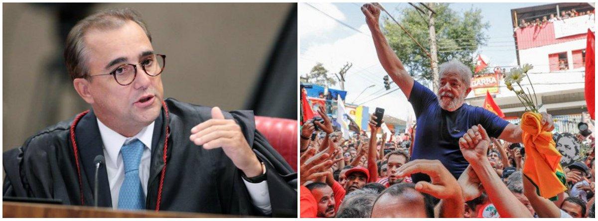 """""""O juiz do TSE, Admar Gonzaga, antecipou-se aos fatos e declarou-se contra o direito do Lula ser candidato na eleição de outubro"""", diz o colunista Jeferson Miola; no ano passado, o magistrado """"foi denunciado em boletim de ocorrência na 1ª DP de Brasília por agressão à esposa, lembra; """"O soberano atribuiu o olho roxo da esposa a um 'escorregão em enxaguante bucal'. Os xingamentos, as ofensas e agressões proferidas contra ela não passaram, na versão dele, de 'desentendimentos'"""""""