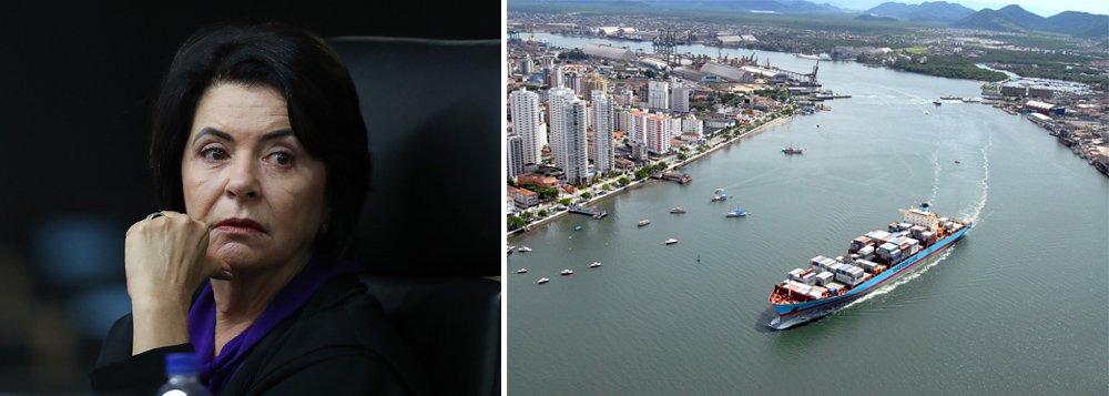 A ministra do TCU Ana Arraes vai pedir a anulação da prorrogação do contrato da operadora Libra no Porto de Santos; Libra está no foco da investigação que envolve Michel Temer pela suspeita do recebimento de propina por meio da edição, no ano passado, do chamado Decreto dos Portos, que beneficiou empresas ligadas ao setor; em seu voto, a ministra afirma não ter dúvidas que as irregularidades investigadas justificam a saída imediata da empresa do Porto de Santos; TCU pautou o julgamento do caso para esta quarta-feira (23)