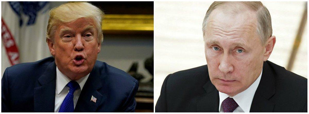 O presidente dos EUA, Donald Trump, deu ordem ao secretário de Estado, Mike Pompeo, de preparar propostas de restrições em relação à Rússia por causa de supostas violações por parte de Moscou do Tratado de Forças Nucleares de Alcance Intermediário (INF), que estabelecia a redução do número de mísseis com alcance de 500 a 1.000 quilômetros e de 1.000 a 5.500 km