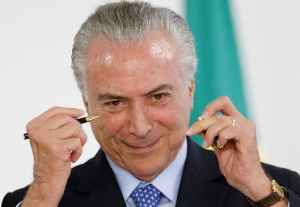 Presidente Michel Temer durante cerimônia no Palácio do Planalto em Brasília, Distrito Federal 6/12/2017 REUTERS/Adriano Machado