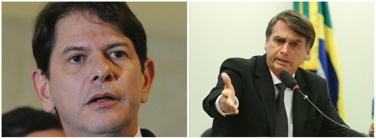 """O ex-governador do Ceará Cid Gomes (PDT), irmão do presidenciável Ciro Gomes, avaliou que o pré-candidato Jair Bolsonaro (PSL) """"é mais fácil de derrotar, ele vai explodir de rejeição. Mas com o Alckmin teríamos mais condições de diálogo""""; segundo o pedetista, """"quem atrapalha o Alckmin, nosso candidato preferido para enfrentar no segundo turno, é o Fernando Henrique Cardoso, que deveria vestir o pijama"""""""