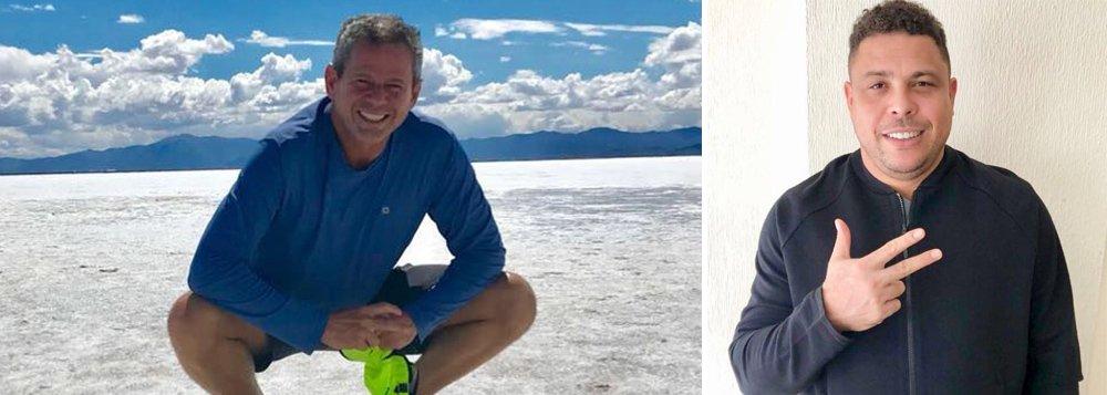 Desde os anos 90, o doleiro Dario Messer, considerado o maior do país e um dos mais importantes do mundo, está constantemente no noticiário e, muitas vezes, rodeado de famosos; entre as celebridades com quem Dario Messer brindou em badalações está o ex-jogador de futebol Ronaldo Nazário, o Fenômeno, que se conheceram através dos então empresários do craque, Reinaldo Pitta e Alexandre Martins; doleiro tem acúmulo de escândalos e está foragido