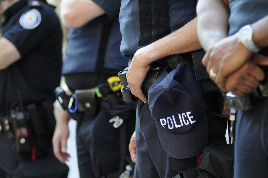 Polícia do estado norte-americano de Nova Jersey (New Jersey - EUA)